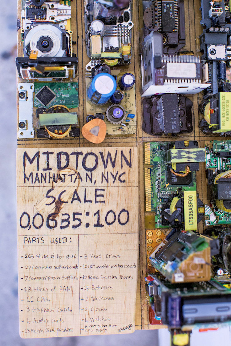 Zayd Menk Scale Model of New York Electronics