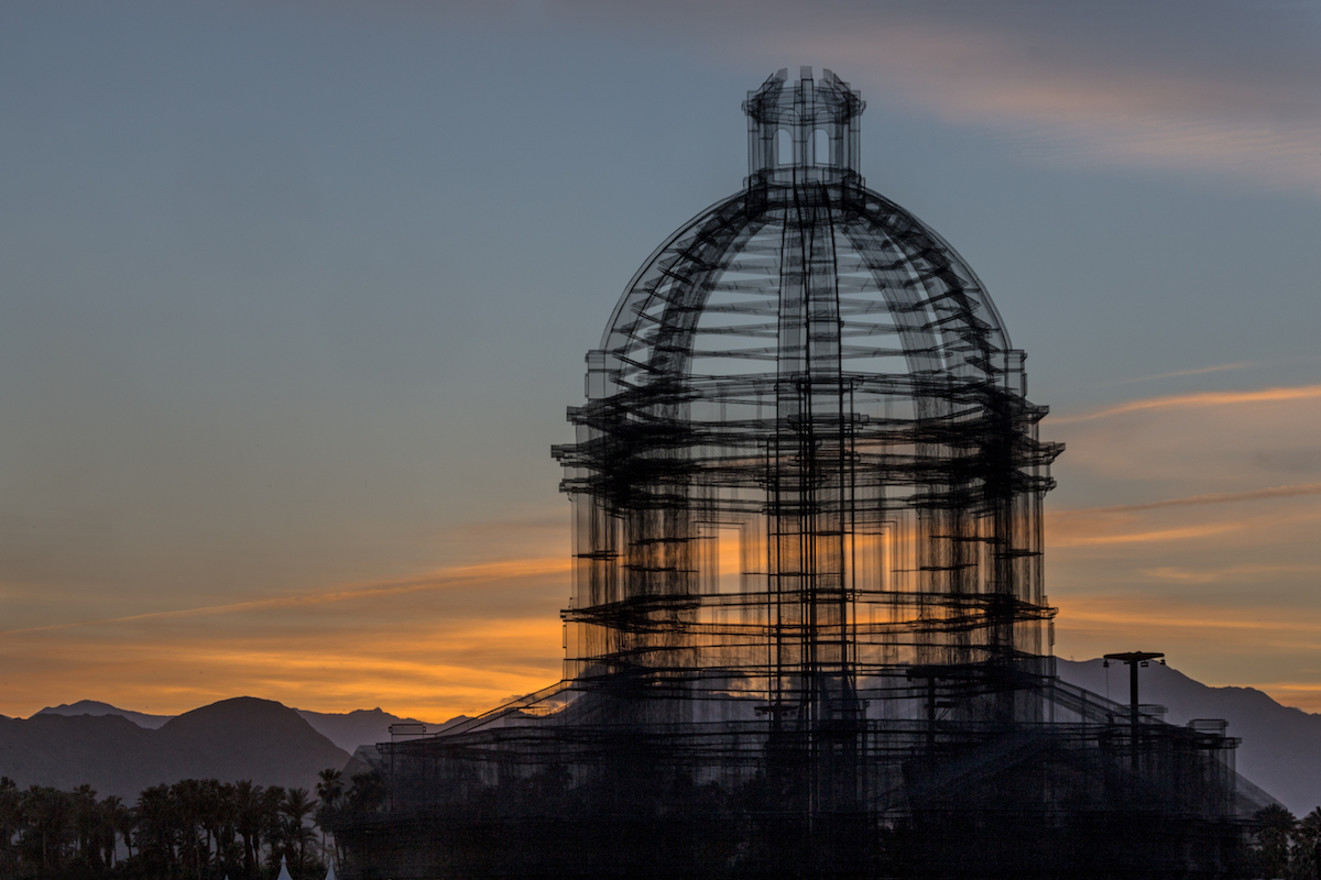 Art at Coachella 2018 by Edoardo Tresoldi