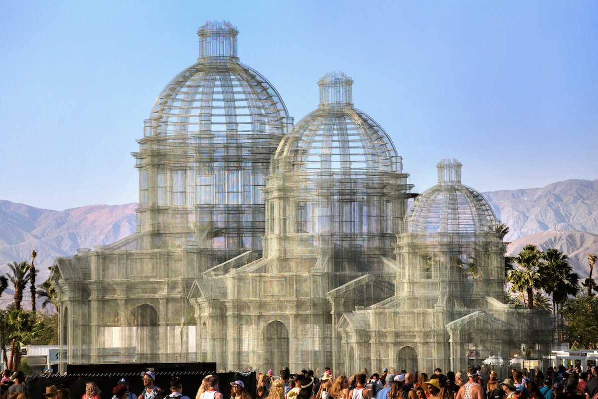 Edoardo Tresoldi - Etherea at Coachella 2018