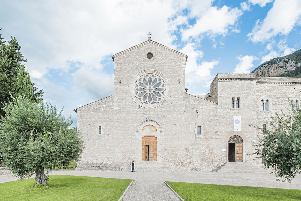 Valvisciolo Abbey by Federico Scarchilli