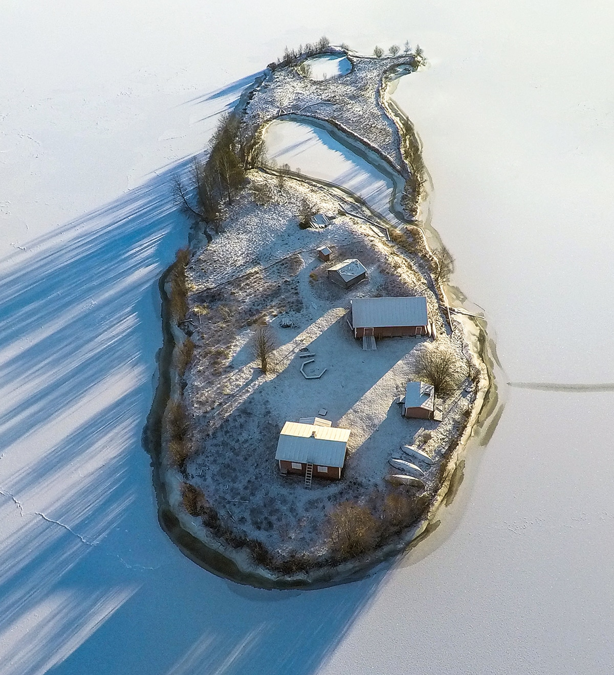 Kotisaari Island in Finland