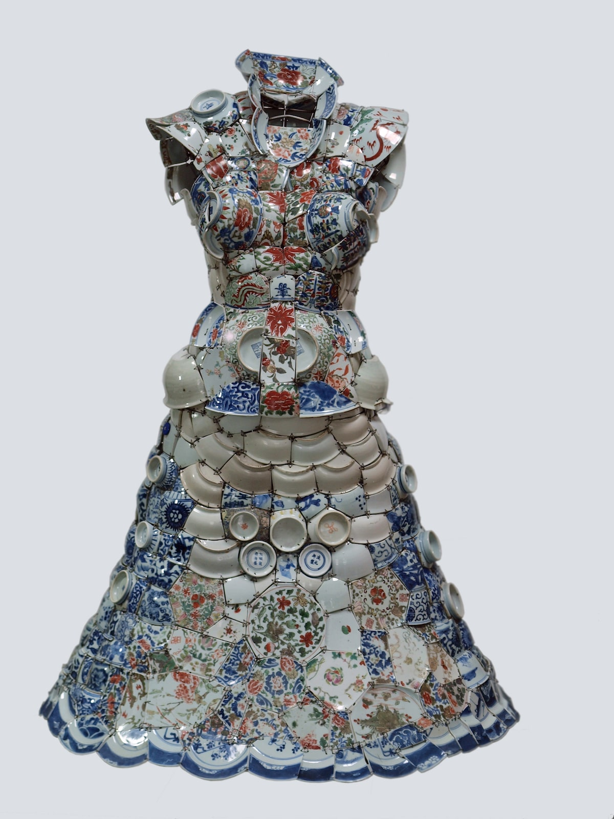 Dress Made of Porcelain by Li Xiaofeng