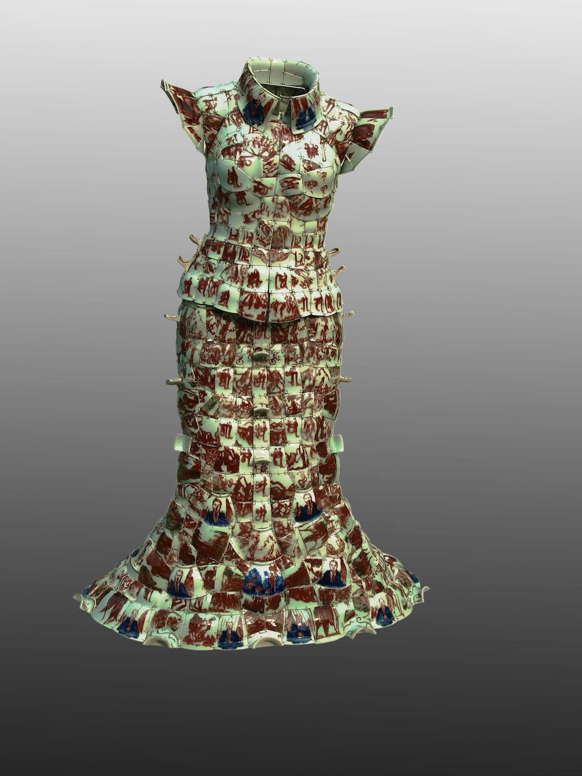Porcelain Dress by Li Xiaofeng