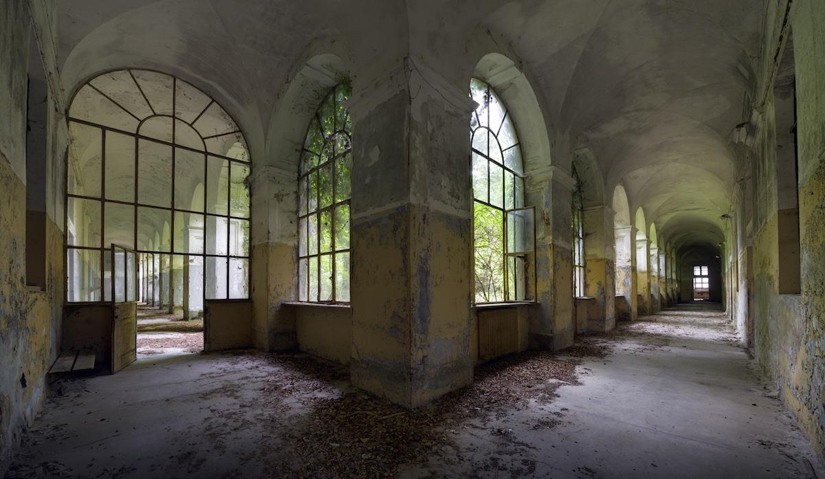 Abandoned Italian Hospital by Matt Emmett