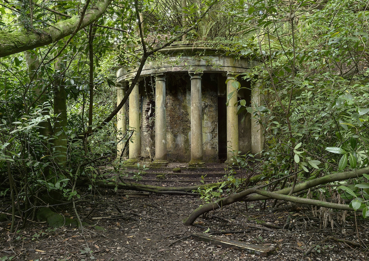 ruined colonnade