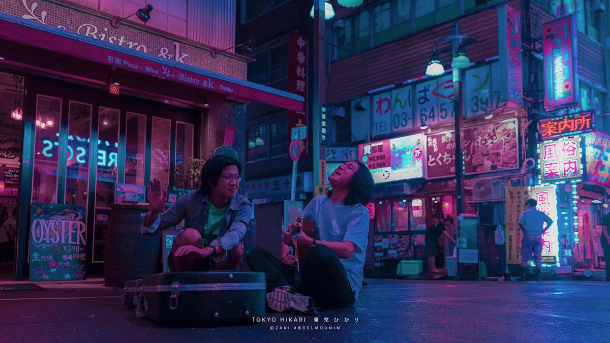 Zaki Abdelmounim Neon Streets Tokyo