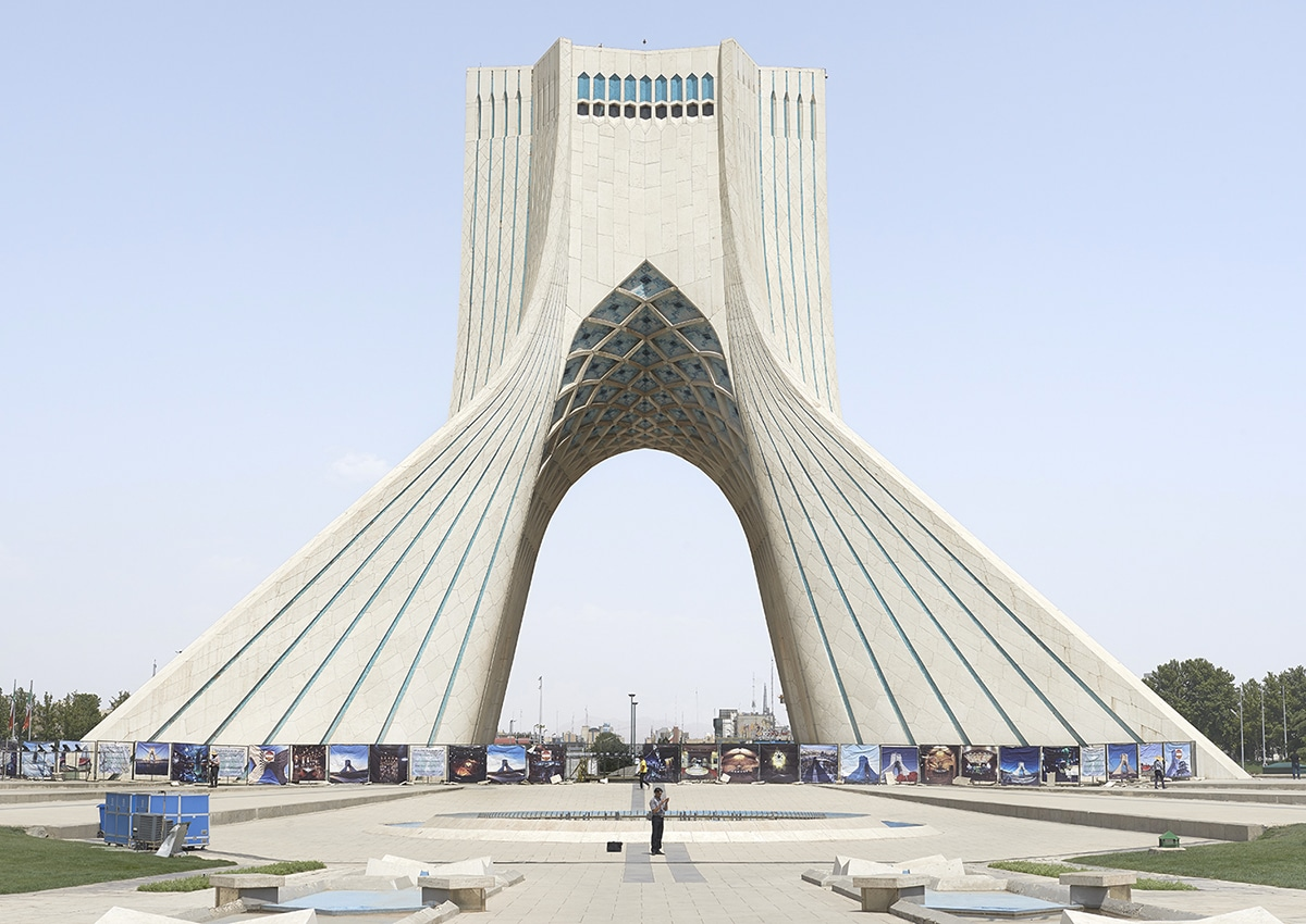 Photo of Azadi Tower in Tehran by Zico O'Neill