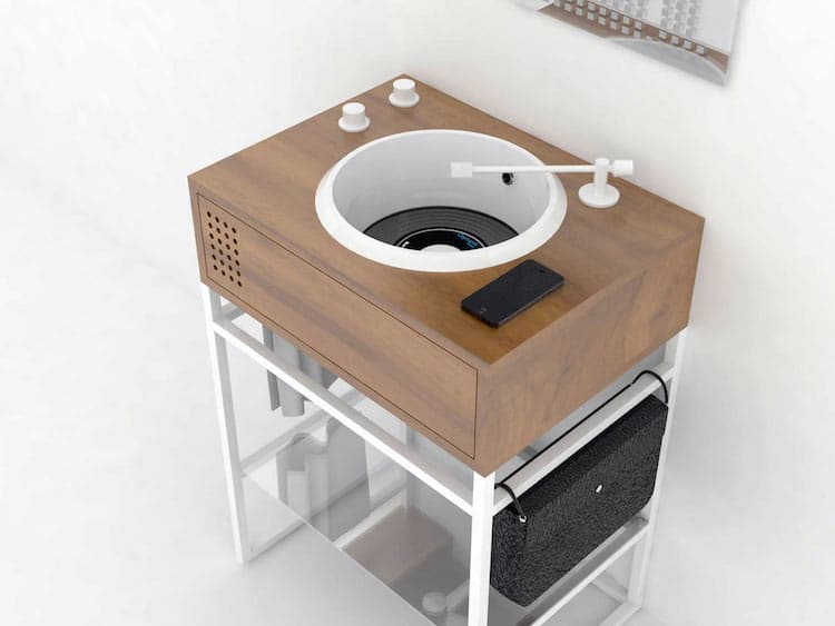 Bathroom Sinks Vinyl Collection by Olympia Ceramica