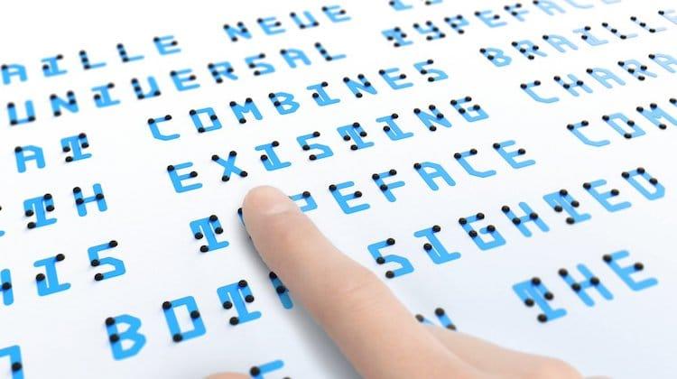 Braille Neue Typeface by Kosuke Takahashi