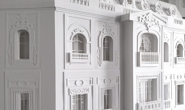 Paper Buildings Haussmann Camille Ortoli