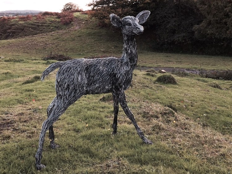 Wire Animal Sculpture by Candice Bees