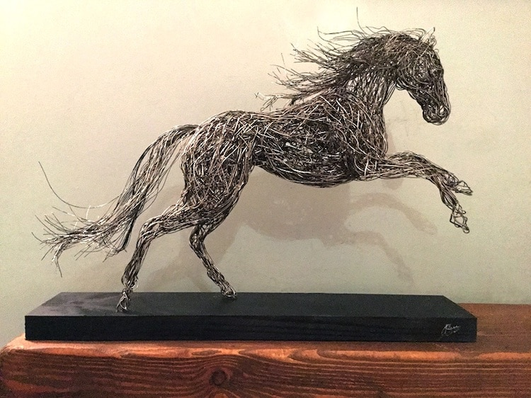 Wire Sculpture by Candice Bees
