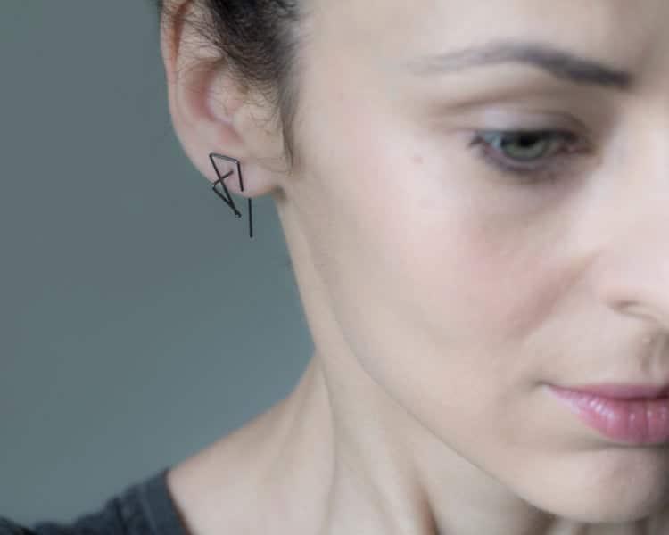 Clean Line Earrings