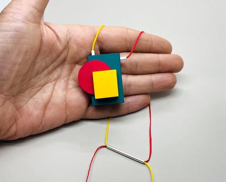 Colorful Bauhaus Necklace