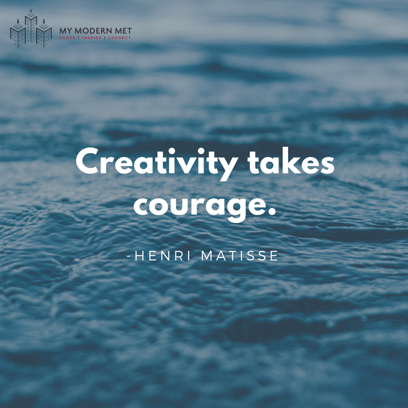 60 Inspirational Quotes To Help You Beat Artist's Block Amazing Water Quotes