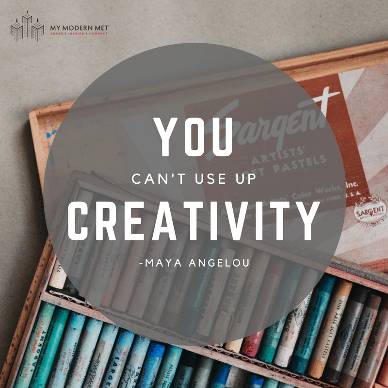 19 Inspirational Quotes to Help You Beat Artist's Block
