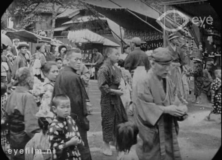 Film Footage of Early 20th-Century Tokyo