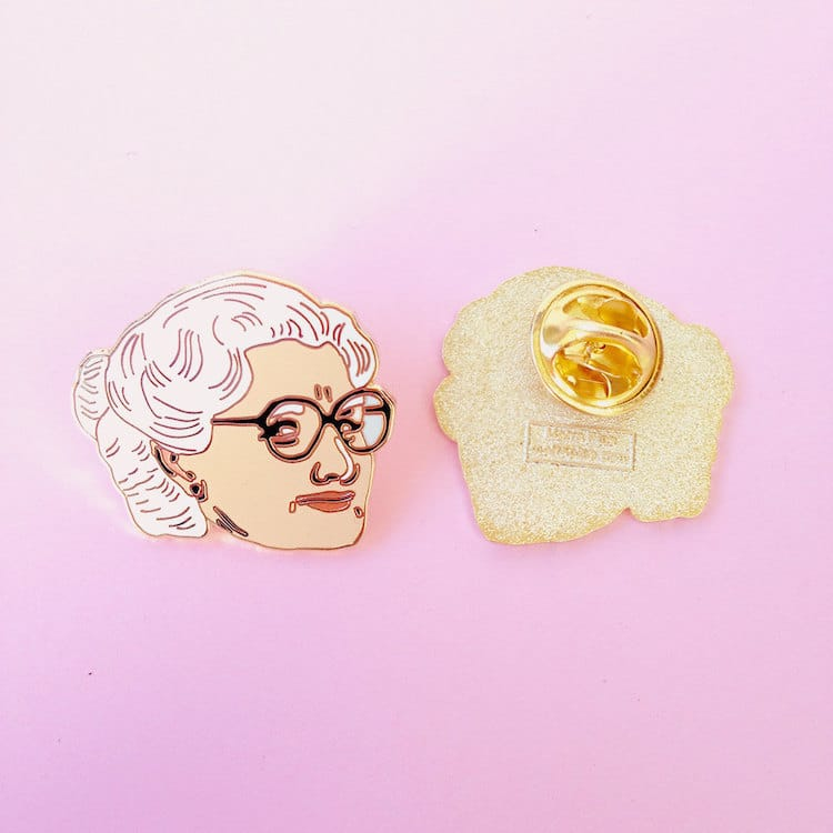 Cool Enamel Pins