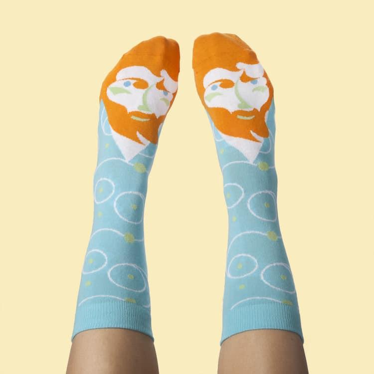 Famous Artist Socks Van Gogh Socks
