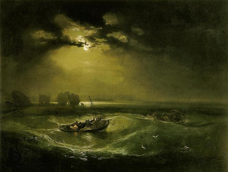 Fishermen at Sea - JMW Turner