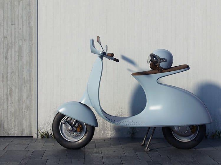 Vespa Industrial Design by Giulio Iacchetti