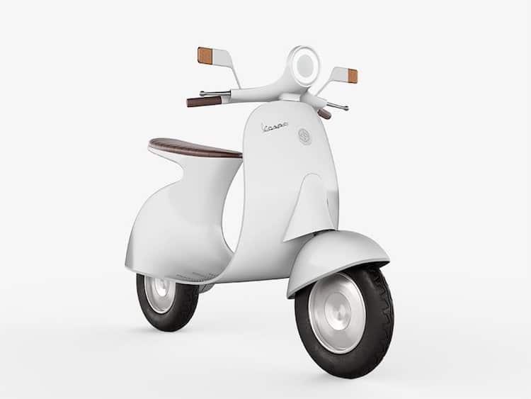 Vespa Concept by Giulio Iacchetti