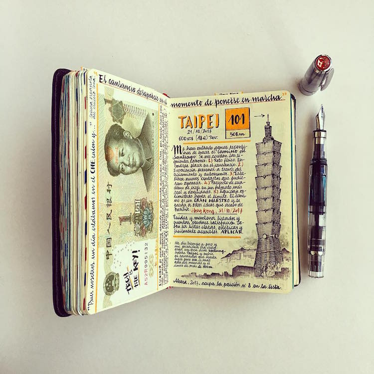 Handmade Traveler's Notebook by José Naranja