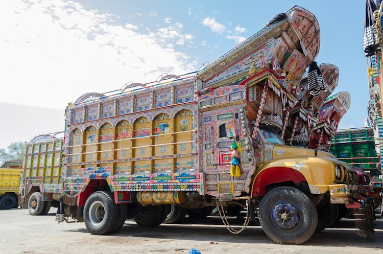 The Rise Of Jingle Trucks And Truck Art In Pakistan