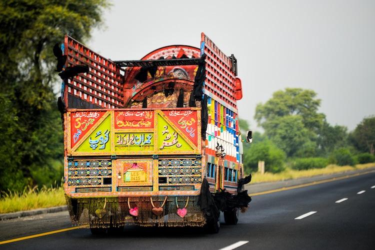 Jingle Truck - Truck Art in Pakistan
