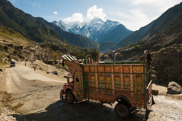 Pakistan Painted Trucks
