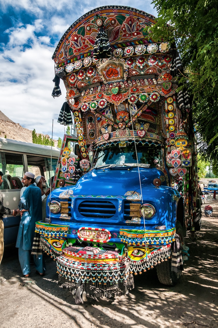 Pakistani Truck Art