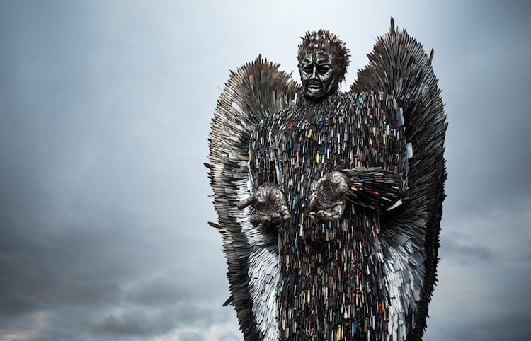 Knife Angel by Alfie Bradley
