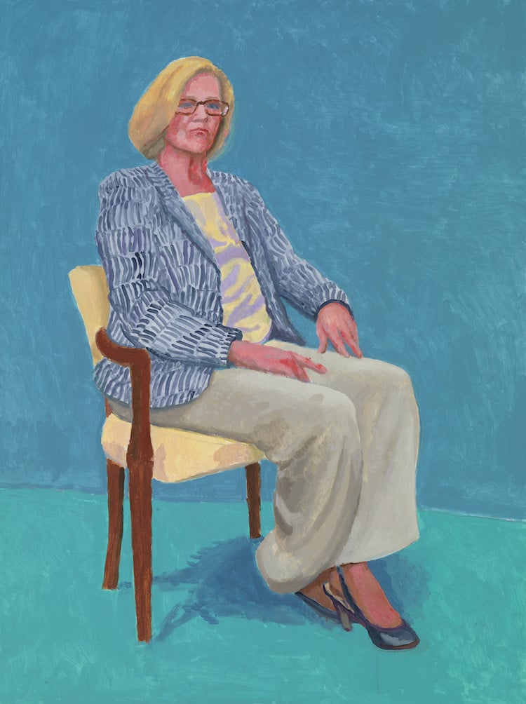 David Hockney 82 Portraits and 1 Still-Life LACMA Exhibits David Hockney Portraits David Hockney Exhibition