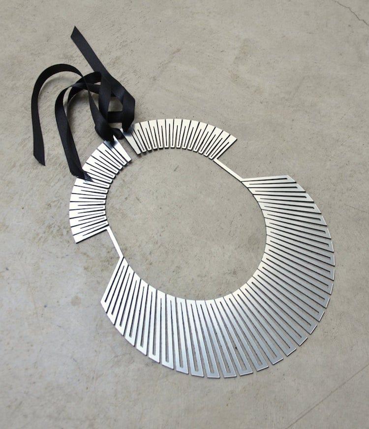 Laser Cut Necklace