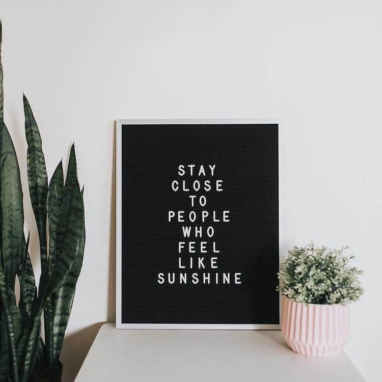 Letter Boards Turned Into Inspiring Words Of Wisdom