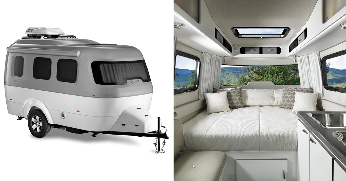 Airstream Travel Trailers >> Airstream Launches Fiberglass Travel Trailer Perfect For