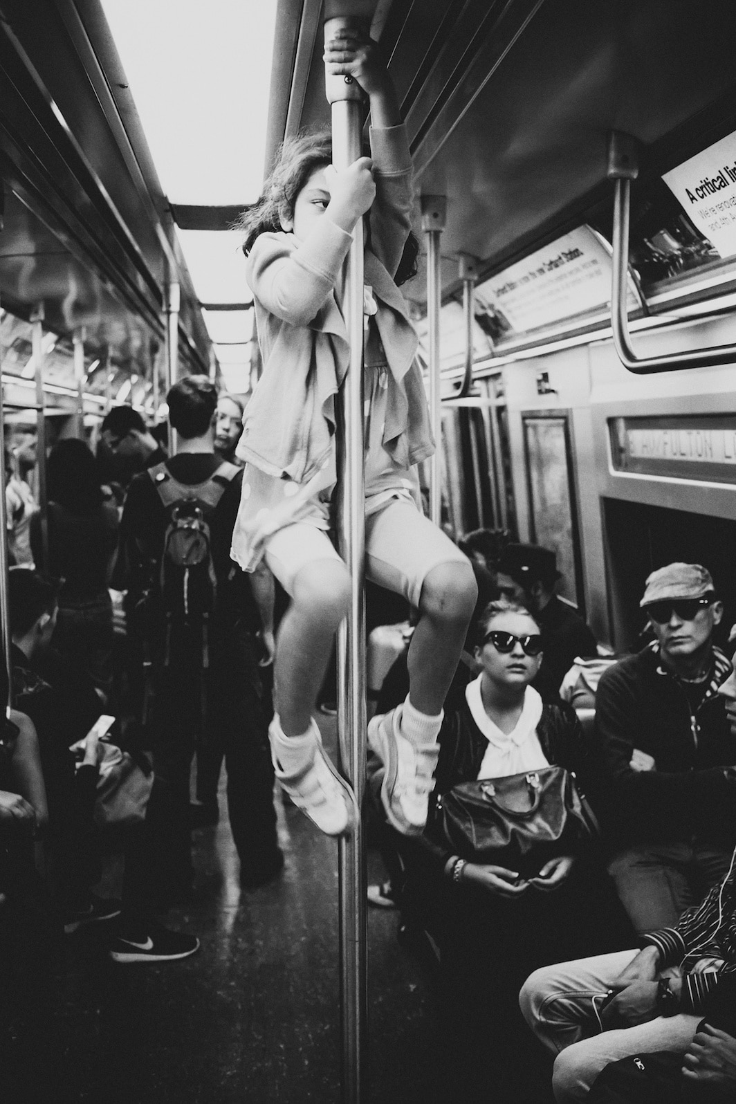 New York Subway Street Photography by Luc Kordas