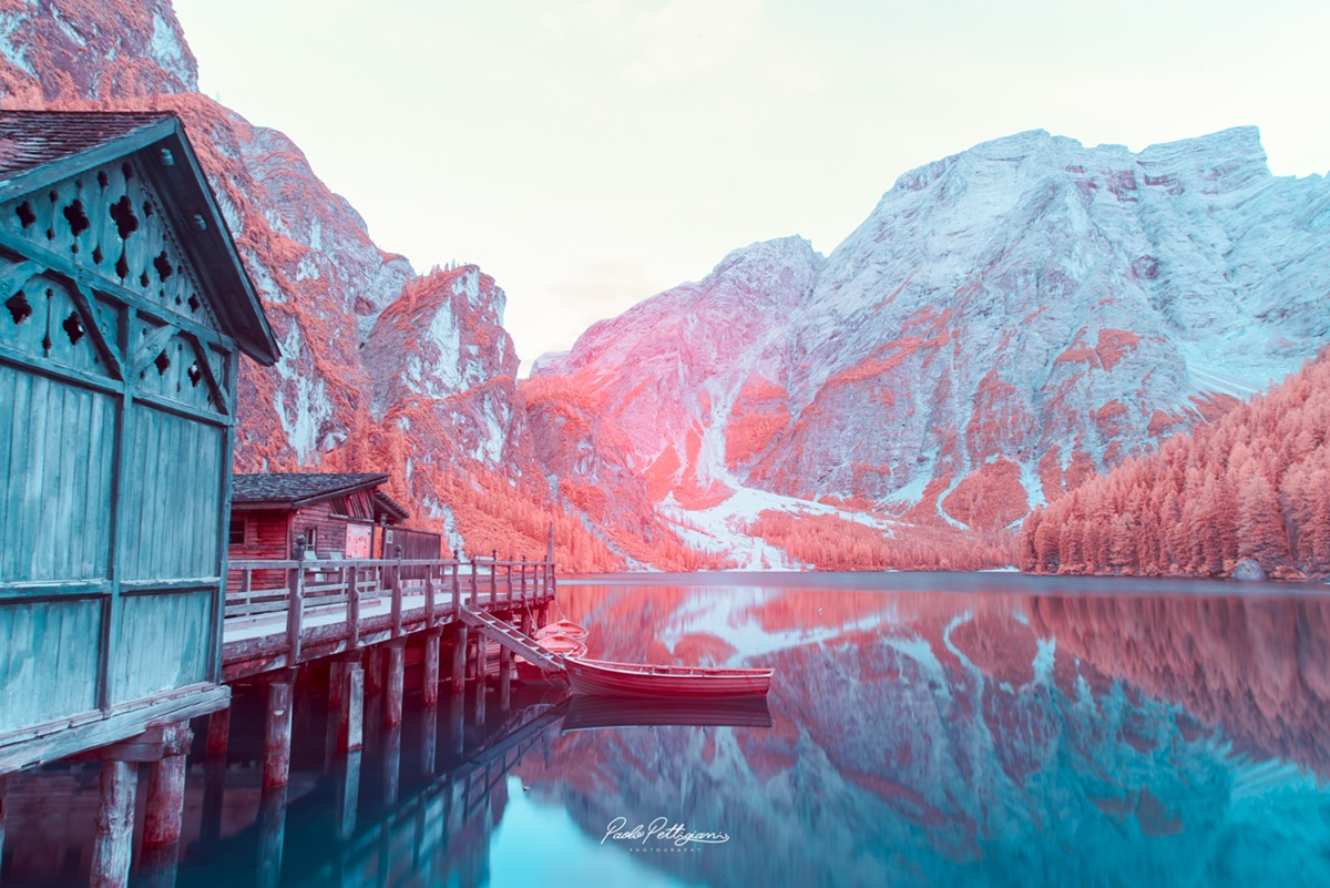 Infrared Photography of the Dolomites Paolo Pettigiani