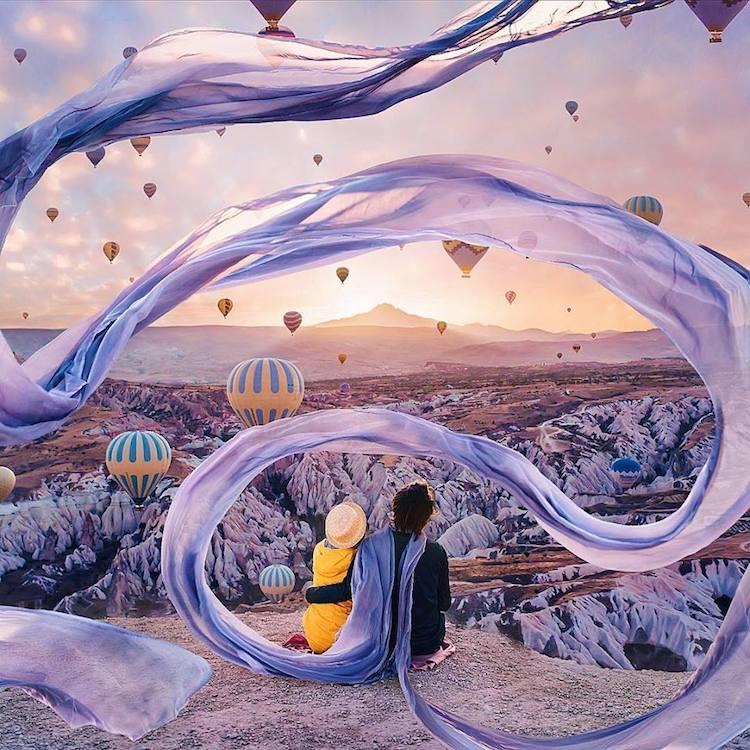 Kristina Makeeva Photoshop Edits Dreamy Photos
