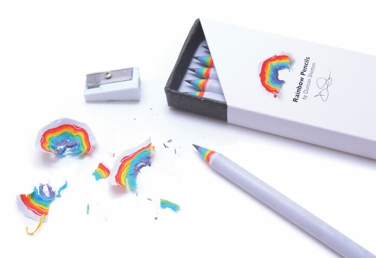 Rainbow Pencils Duncan Shotton