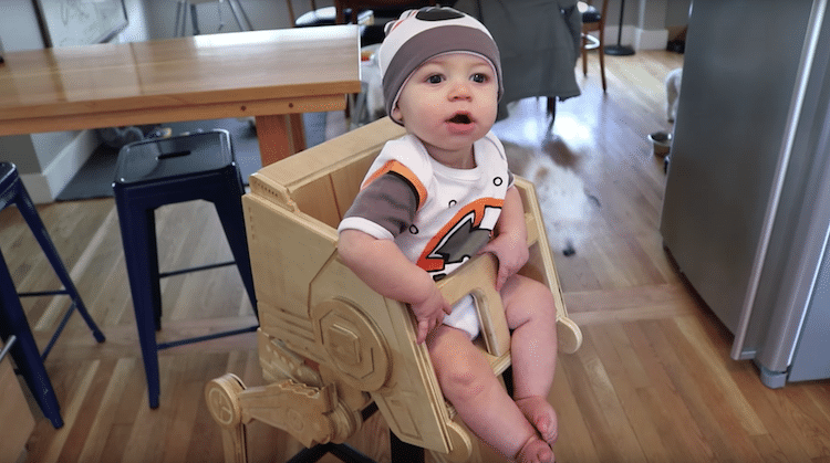 Star Wars Highchair is the Best Highchair Ever