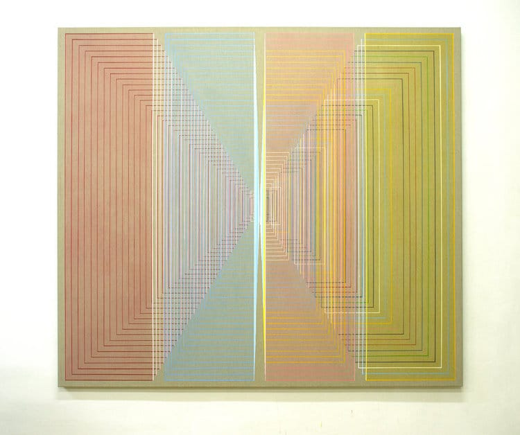 Synesthesia Geometric Paintings by Daniel Mullen