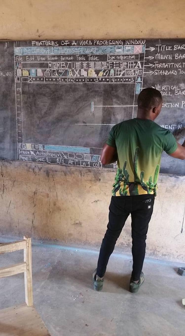 Impactful Teacher in Ghana