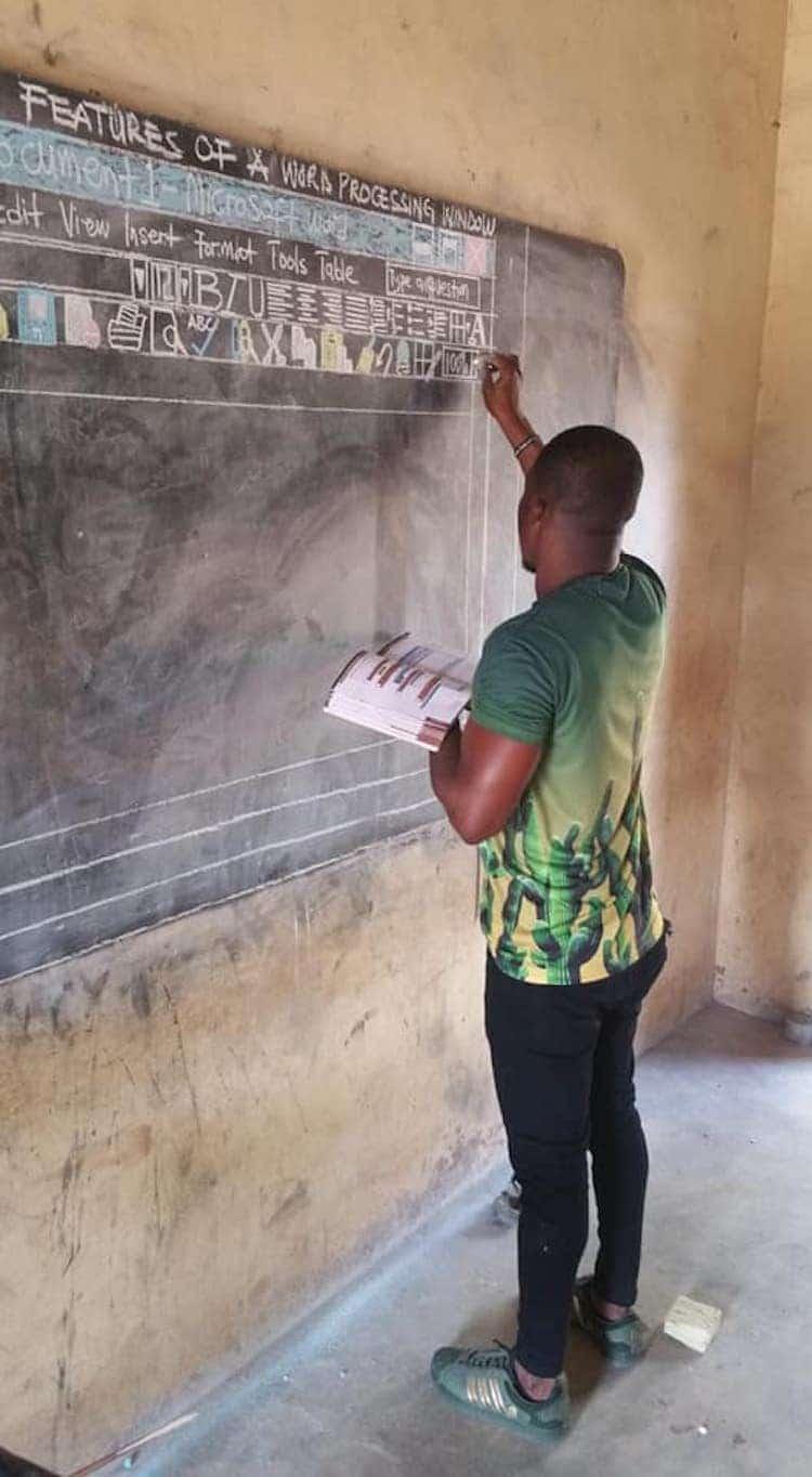 Impactful Teacher Owura Kwadwo Hottish