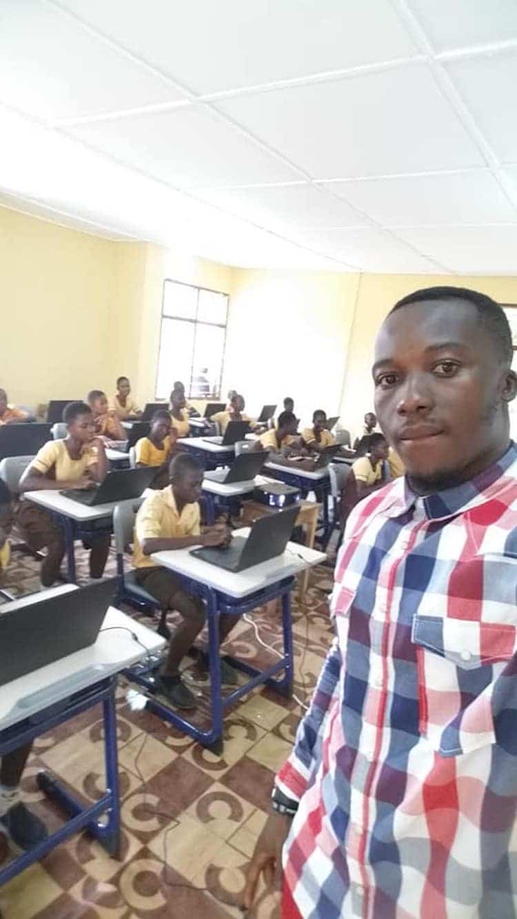 Impactful Teacher Owura Kwadwo Hottish