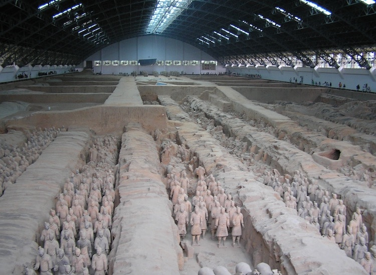 Terracotta Army Terracotta Soldiers