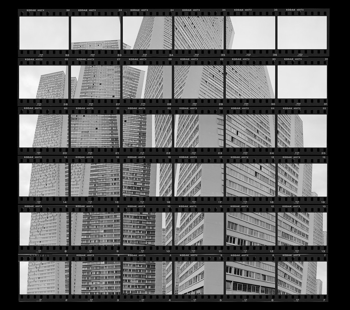 Contact Sheet Photography by Thomas Lang