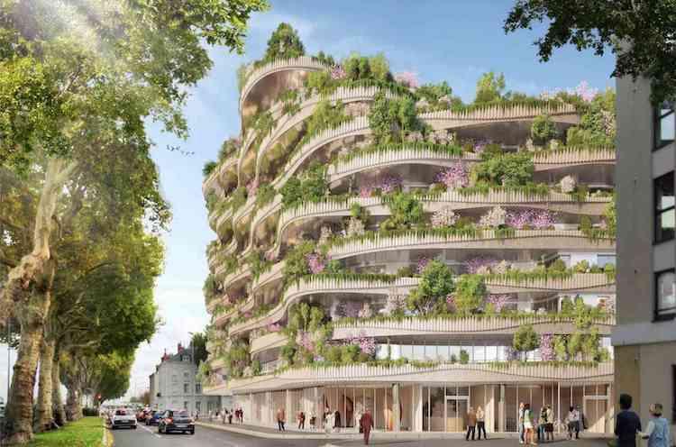 Arboricole Vertical Forest Concept by Vincent Callebaut
