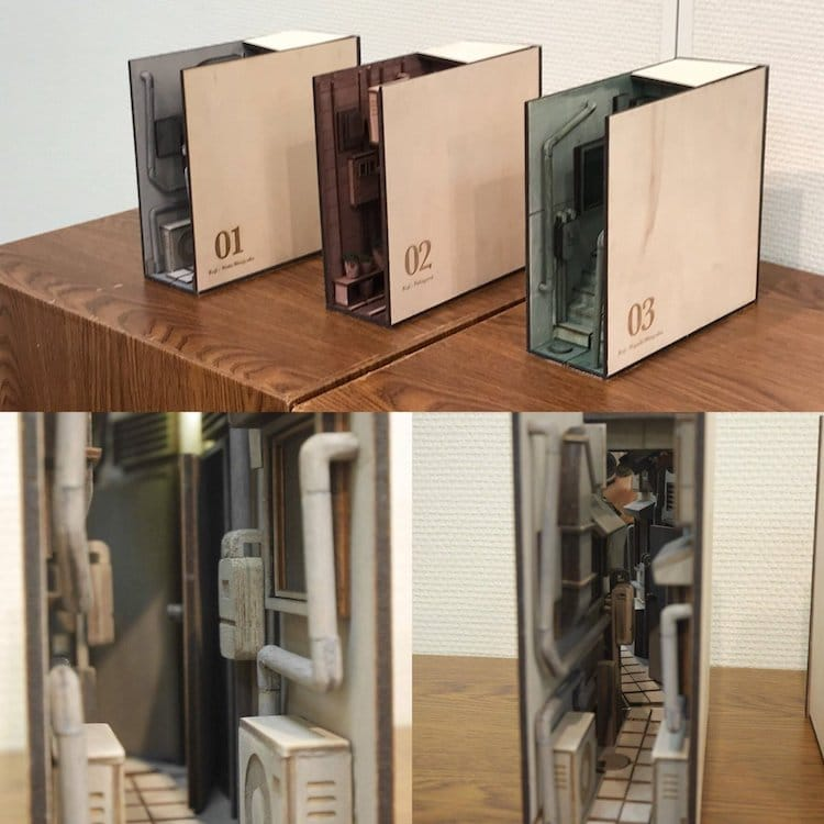 Unique Bookends Are Incredibly Detailed Recreations Of