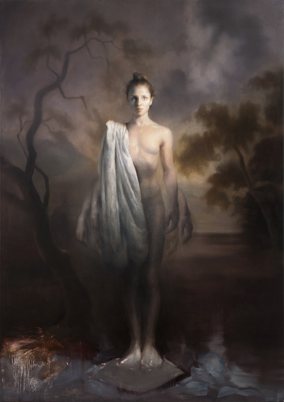 Oil painting by Maria Kreyn